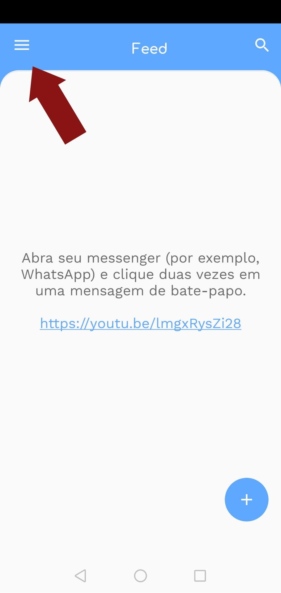 Agendar mensagens.
