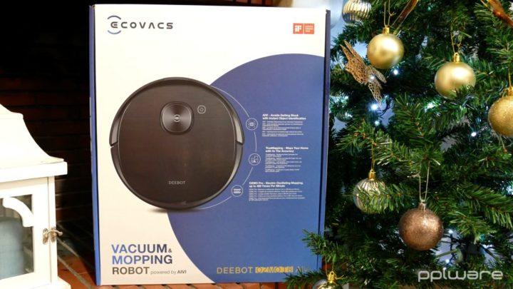 Passatempo de Natal: Ganhe um robô aspirador Ecovacs Deebot Ozmo T8 AIVI