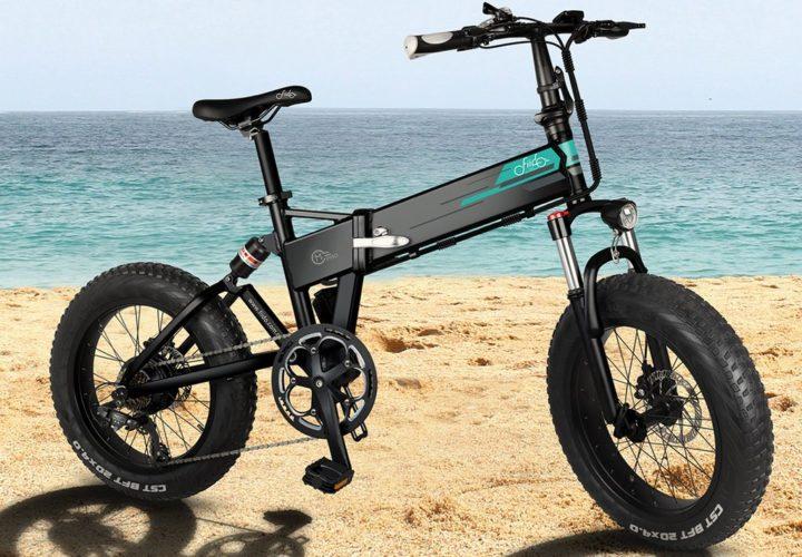 Bicicletas elétricas dobráveis FIIDO