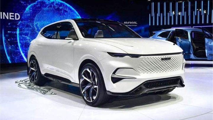 Imagem carro elétrico Great Wall Motors que desafia a Tesla