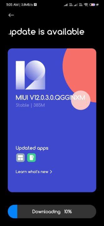 Imagem Android 11 a chegar aos Xiaomi