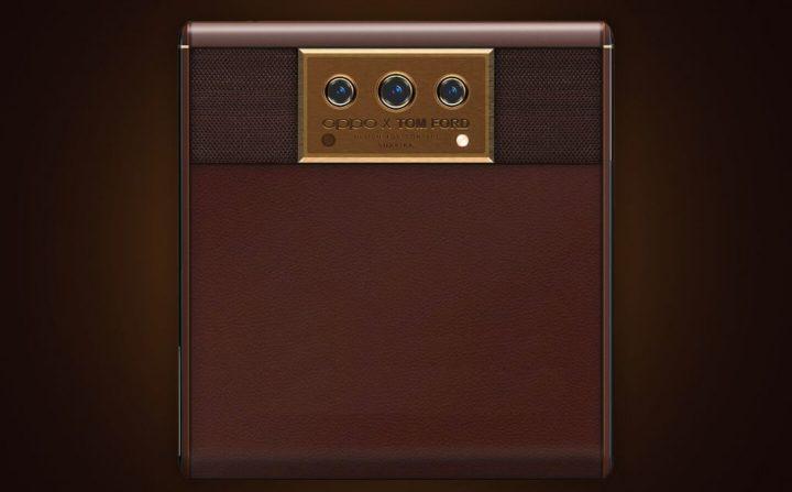 OPPO X Tom Ford, um novo conceito de smartphone com ecrã deslizante