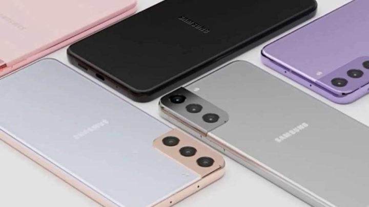 Samsung Galaxy S21+ iPhone Pro Max vídeo Antutu
