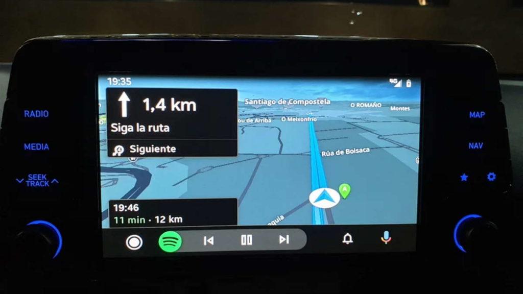 Android Auto Sygic Waze Google Maps serviços