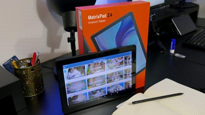 Vankyo MatrixPad Z4 - o tablet Android de baixo custo ideal para estudantes