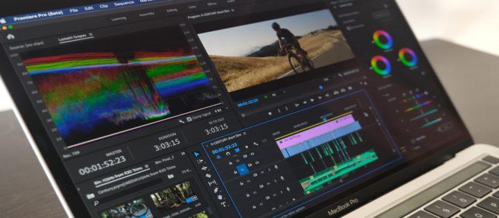 Imagem Adobe premier Pro beta no Macbook Pro M1