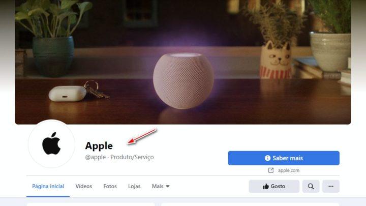 Afinal, o que aconteceu à verificação da página de Facebook da Apple?
