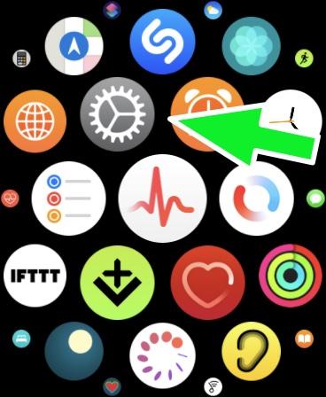 Imagem ativar no Apple Watch o Relógio táptico