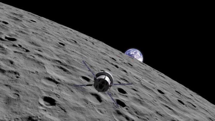 Ilustração do programa Artemis da NASA para voltar à Lua