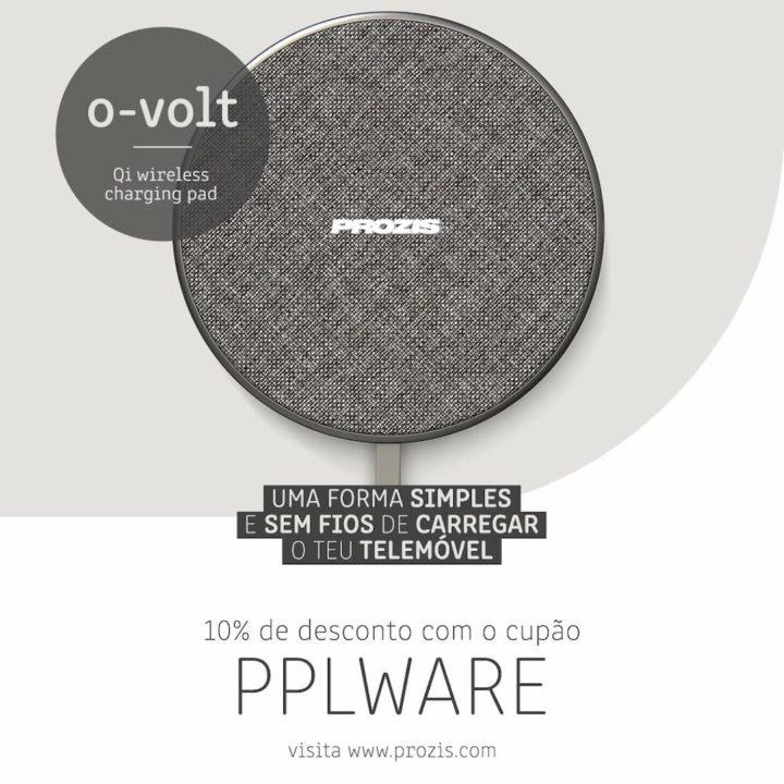 o-volt: Base de carregamento Qi sem fios de 10 W