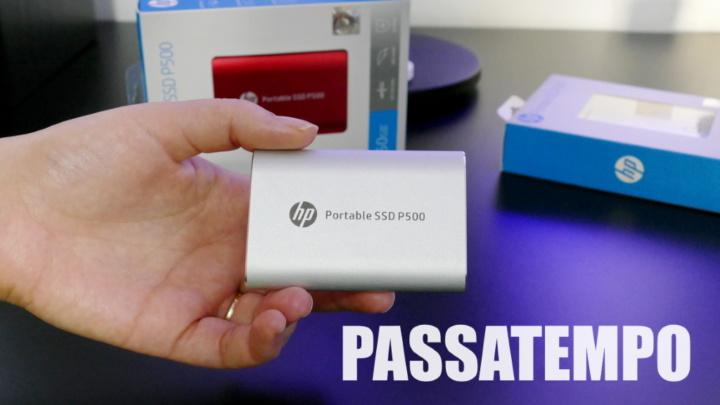 Passatempo: Temos para oferecer duas Drives SSD portáteis HP P500