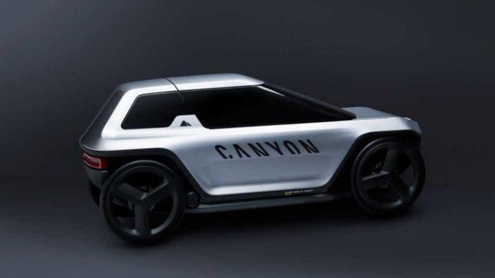 Canyon tem um veículo elétrico para dar umas pedaladas