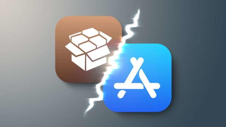 Cydia Apple jailbreak App Store monopólio