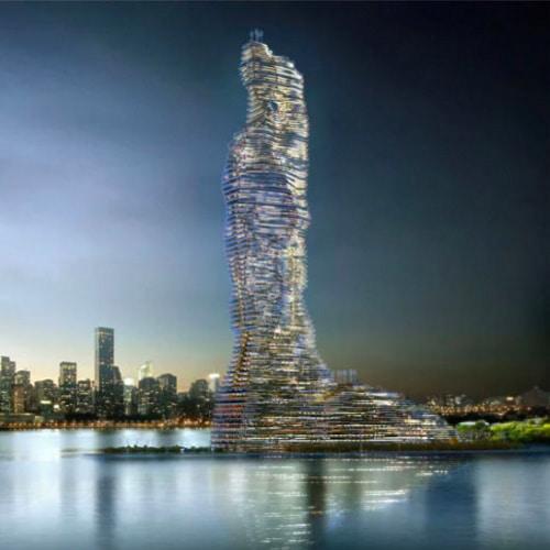 "Torre que vai ""comer"" dióxido de carbono de NYC."