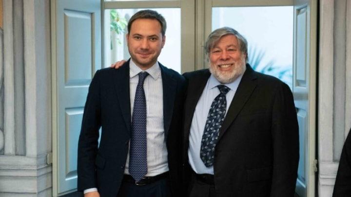 Steve Wozniak e Jacopo Visetti.