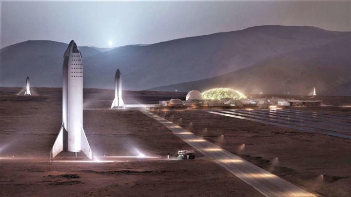 Elon Musk SpaceX Marte viagem data
