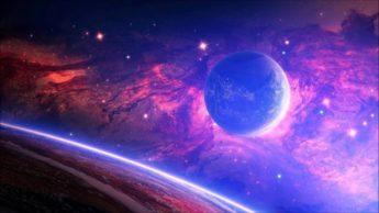 Ilustração de estradas espaciais no sistema solar