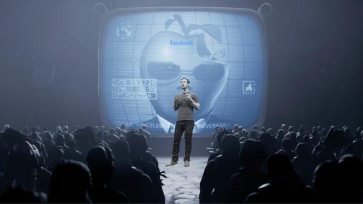 Ilustração Facebook a dar apoio à Epic Games