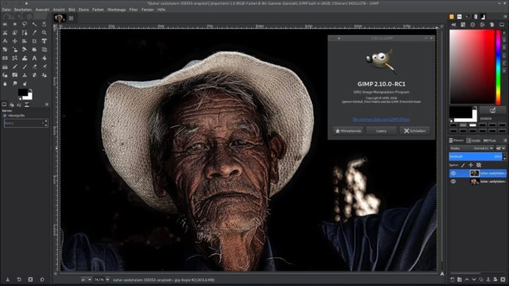 Imagem GIMP