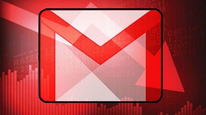 Gmail Google problemas instabilidade serviços