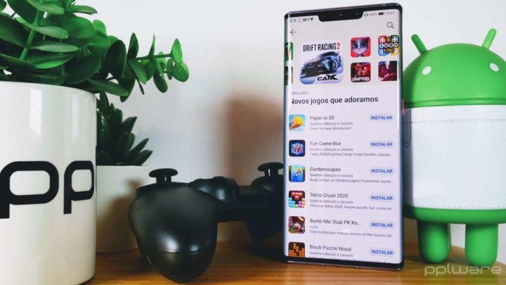 Huawei AppGallery jogos utilizadores apps