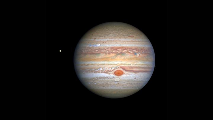Telescópio Espacial Hubble: Júpiter Turbulento