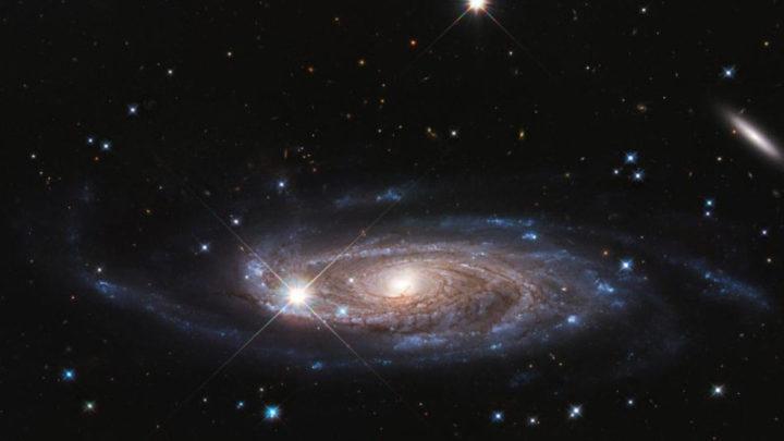 Grande galáxia em espiral