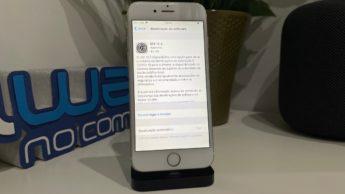 Imagem do iPhone 6 com iOS 12.5