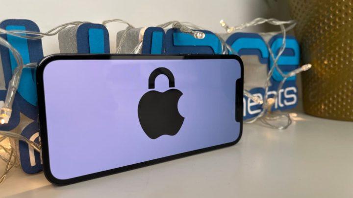 Imagem ilustração privacidade Apple do iOS 14