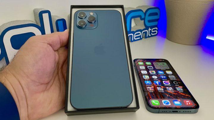 Imagem iPhone 12 Pro e iPhone 12 Pro Max com chip 5G Qualcomm