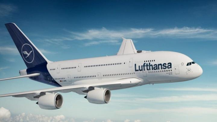 Voo Lufthansa.