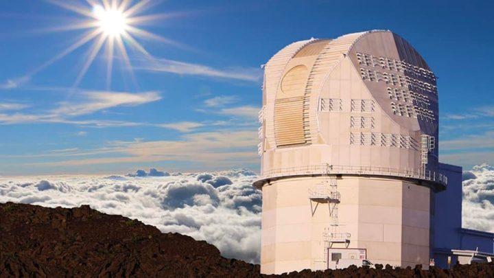 Imagem do Telescópio Solar Daniel K. Inouye