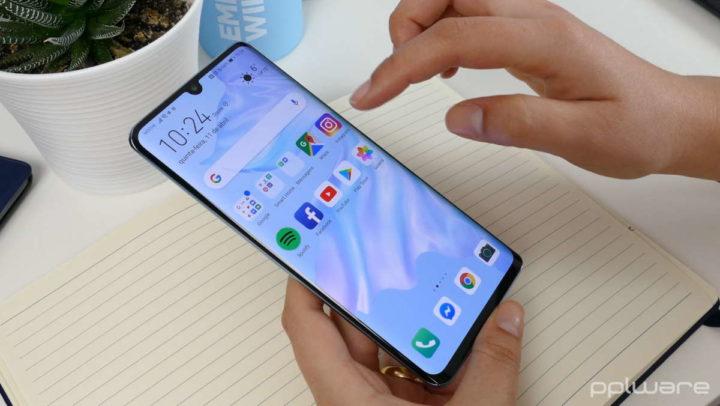 Huawei EMUI 11 P30 smartphone Europa