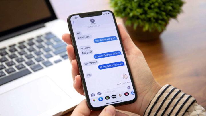 SMS iPhone Apple iOS problema