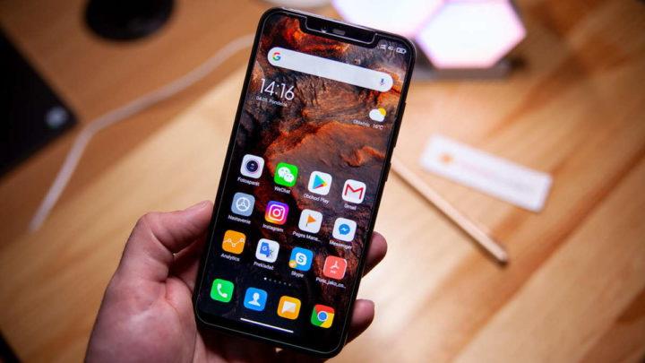 MIUI Xiaomi smartphone version update