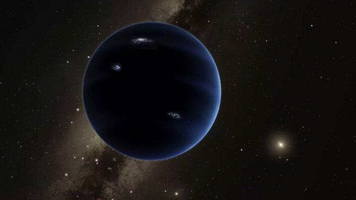 Ilustração do Planeta 9