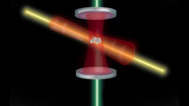Ilustração relógio atómico