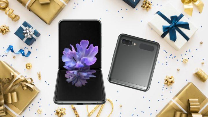 Passatempo de Natal: Ganhe um Samsung Galaxy Z Flip 5G