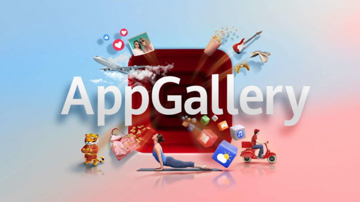 Huawei AppGallery prémios Natal apps