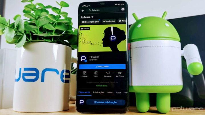 modo escuro Facebook apps móveis smartphone utilizadores