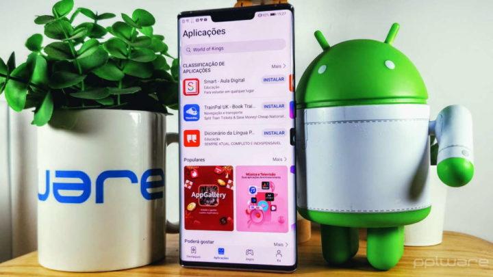 Huawei AppGallery TV música smartphones