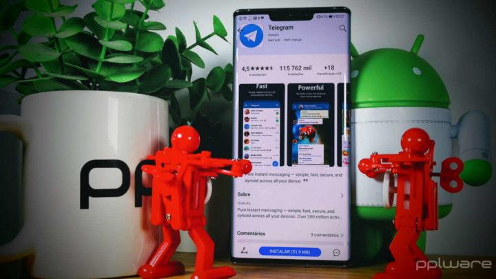 Telegram eliminar mensagens enviadas contato