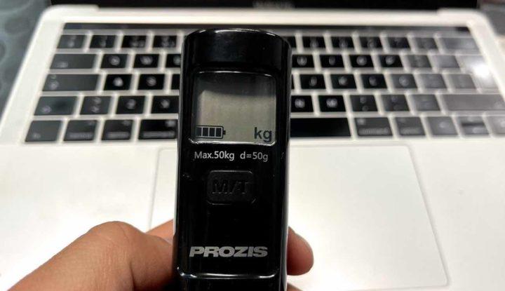 Kgo: A balança eletrónica de bagagem que não tem bateria
