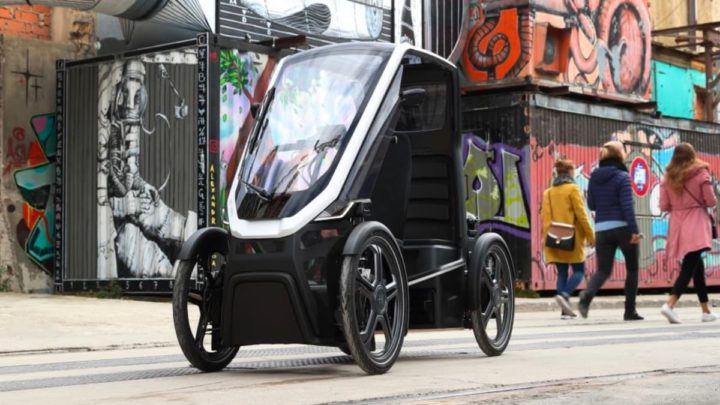 Imagem do veículo elétrico Bio-Hybrid
