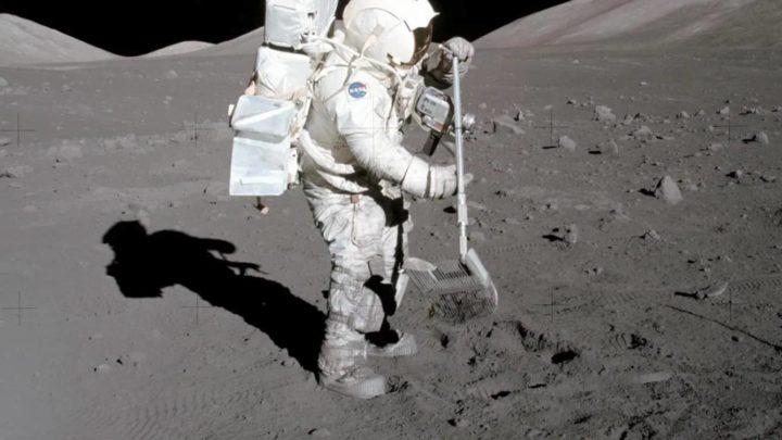 A NASA está a comprar pó da Lua, o Regolito, por 1 dólar