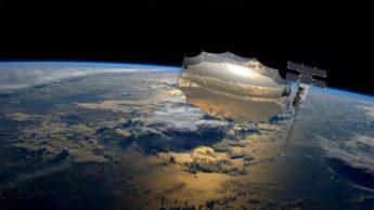 Imagem do satélite espião que pode ver através das paredes de sua casa