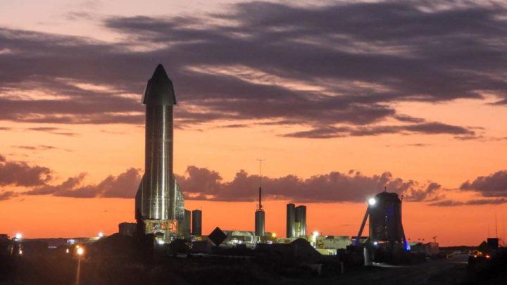 SpaceX SN8 Starship teste voo