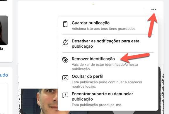 Facebook: Não faça parte de esquemas? Remova a sua identificação
