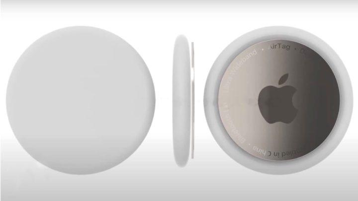 Imagem de conceito do localizador Apple AirTag