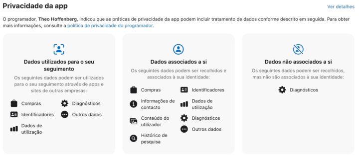 Imagem da nova política da Apple para o iOS
